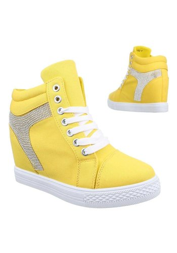 Neckermann Dames Sportschoen geel