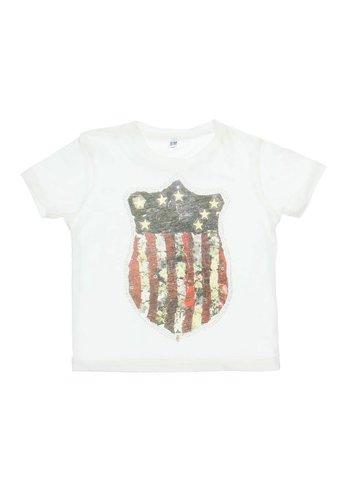 Neckermann Kinder T-Shirt - Ecru