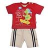 aadvark Kinder Shorts/Shirt van Aadvark - Rood
