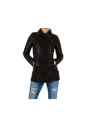 Neckermann Dames mantel - zwart