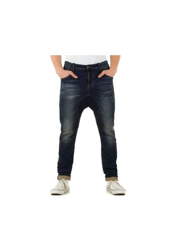 PLACE DU JOUR Heren Jeans van Place Du Jour - Blauw