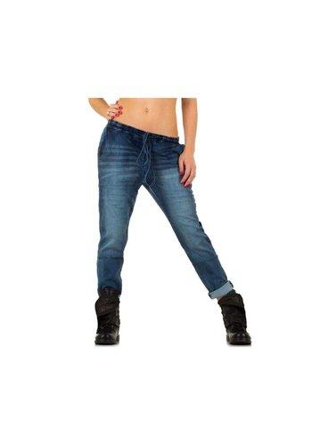 PLACE DU JOUR Dames Jeans van Place Du Jour - L.Blauw