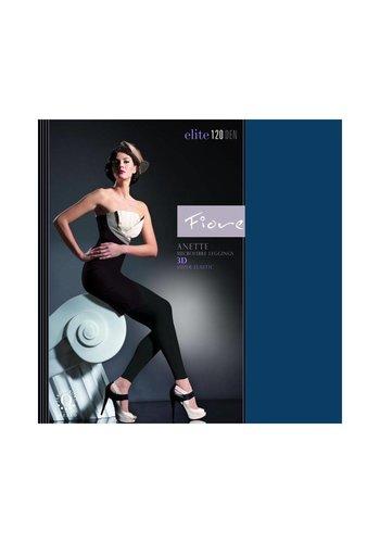 Fiore Dames Leggings van Fiore - Navy Blauw
