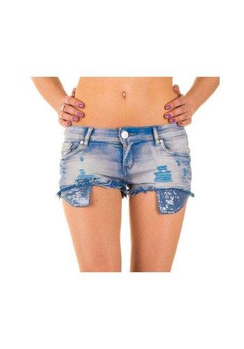 Neckermann Dames Shorts van Simply Chic - L.Blauw