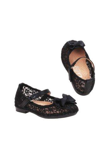 JILI Kinder Ballerinas - zwart