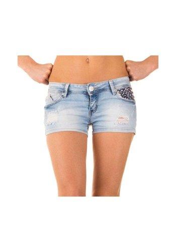 Neckermann Dames Shorts van Simply Chic - L Blauw