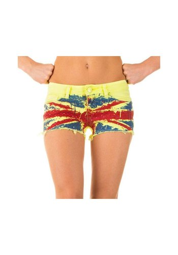 Neckermann Dames Shorts van Simply Chic - Geel