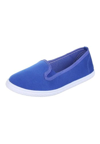 JUSTINE SHOES Dames Instappers - Sapphire