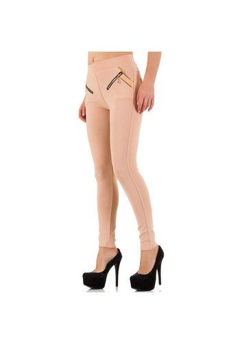 Best Fashion Dames broek van Best Fashion - licht roze