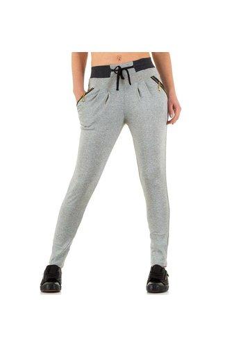 Best Fashion Dames broek van Best Fashion - licht grijs