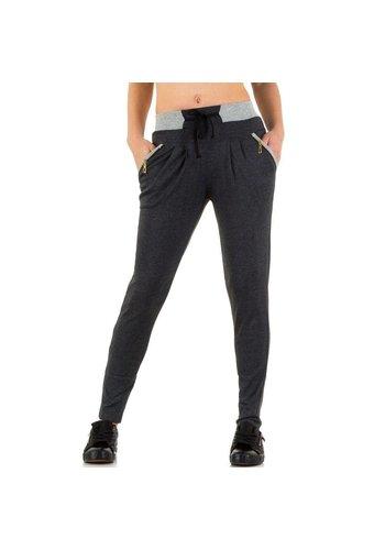 Best Fashion Dames jogging broek van Best Fashion - grijs
