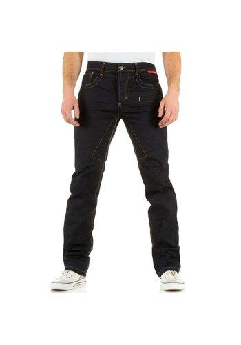 SIXTH JUNE Heren jeans van SIXTH JUNE blauw