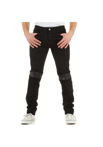 SIXTH JUNE Heren jeans van Sixth June zwart