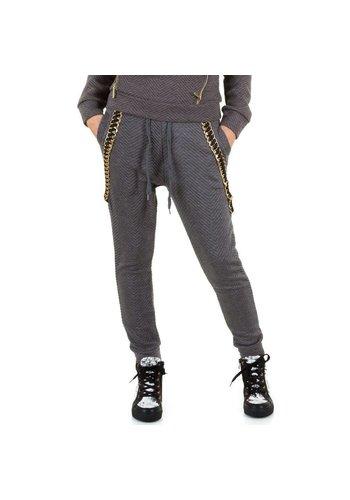 EMMA&ASHLEY DESIGN Dames broek van Emma&Ashley Design - donker grijs