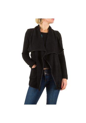 BEST EMILIE Dames jasje van Best Emilie - zwart/groen