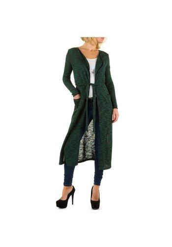 BEST EMILIE Dames vest van Best Emilie - groen