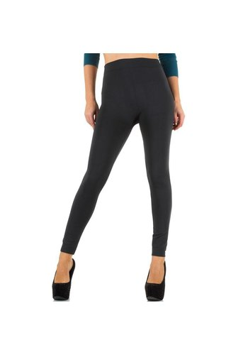 Best Fashion Dames legging van Best Fashion Gr. one size - donker grijs