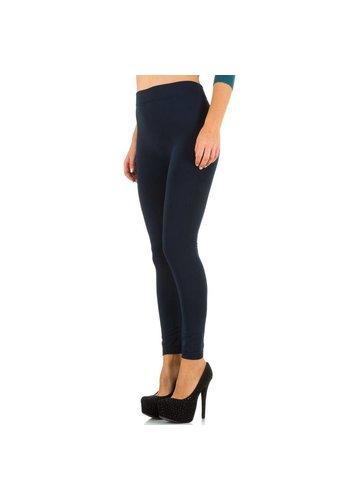 Best Fashion Dames legging van Best Fashion Gr. one size - donker blauw