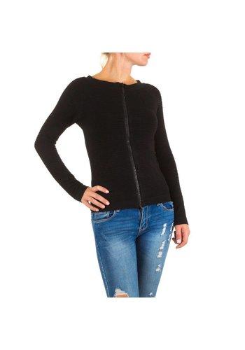 MOEWY Dames Vest van Moewy one size - Zwart