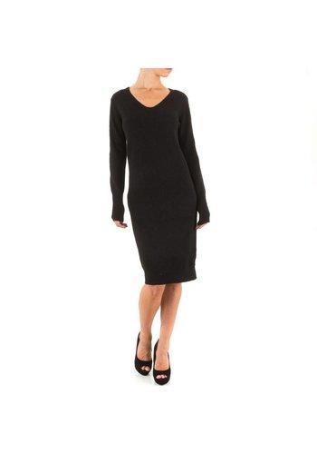 ENZORIA Dames jurk van Enzoria one size - Zwart
