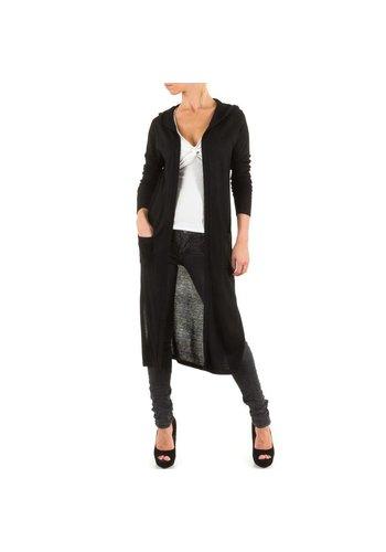 Neckermann Dames Lange jas one size -Zwart