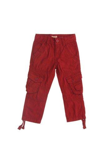 Markenlos Kinder broek van Nisko - donker rood