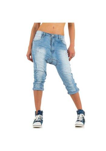 Markenlos Dames Jeans van place Du Jour Blauw