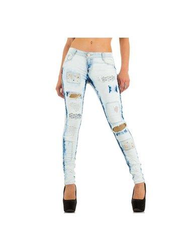ORIGINAL DamesJeans van Original - licht Blauw