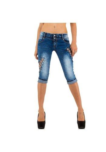ORIGINAL Dames Shorts Jeans van Original - Blauw
