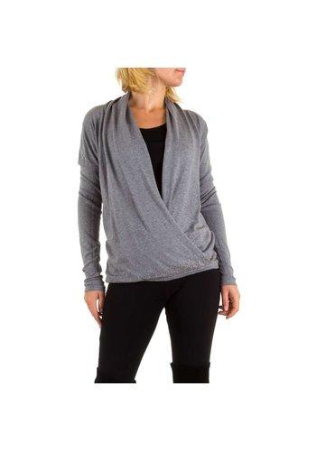 MOEWY Dames trui van Moewy one size - grijs