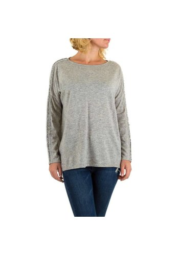 MOEWY Dames pullover van Moewy one size - grijs