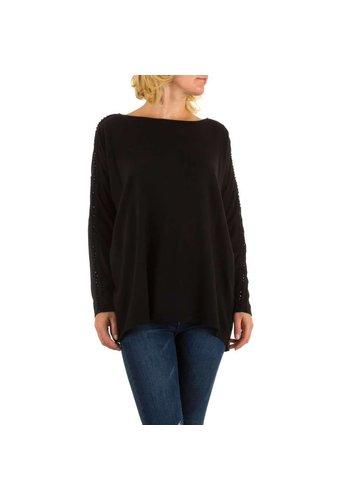 MOEWY Dames pullover van Moewy one size - zwart