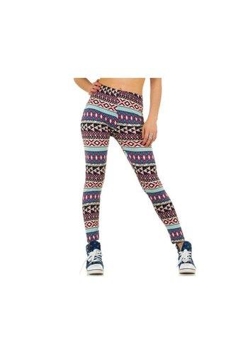 Best Fashion Dames legging van Best Fashion Gr. one size - multi
