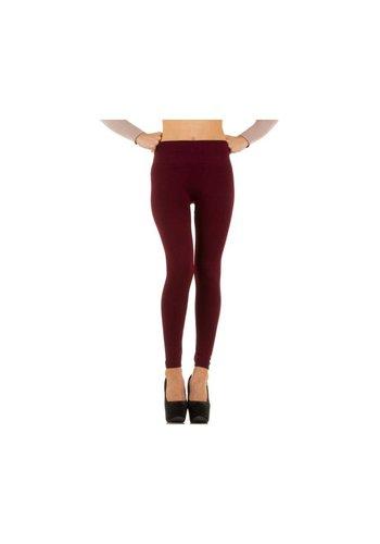 Neckermann Dames legging Gr. one size - donker rood