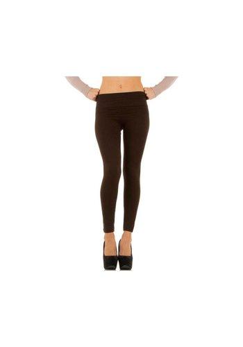 Neckermann Dames legging Gr. one size - donker bruin