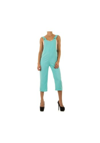 VOYELLES Dames overal turquoise
