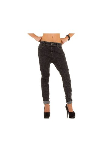 Simply Chic Dames Jeans van Simply Chic - donker grijs