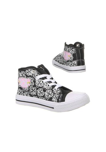 Neckermann Kinder Sneakers- Zwart