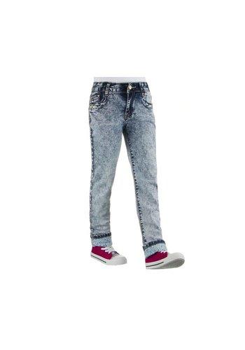 NOVO STYLE Kinder Jeans van Novo Style - blauw²