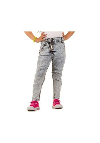 NOVO STYLE Kinder Jeans van Novo Style - Licht blauw²