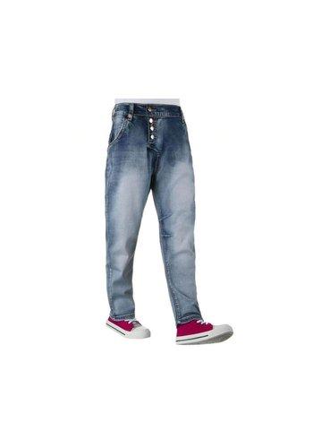 NOVO STYLE Kinder Jeans van Novo Style - Blauw