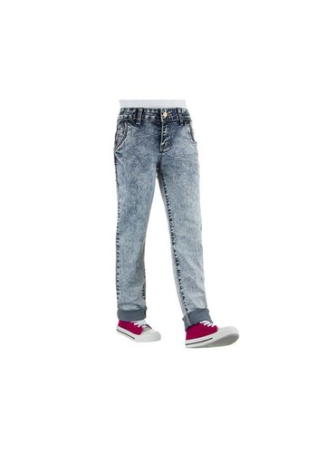 NOVO STYLE Kinder Jeans van Novo Style - Licht Blauw