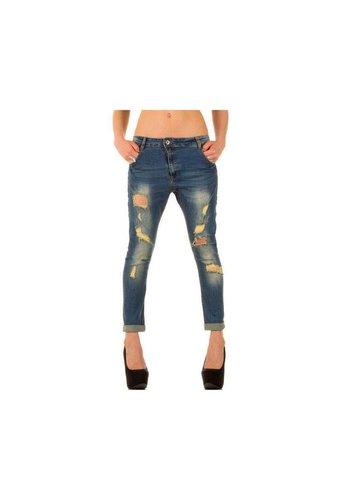 Neckermann Dames Jeans - blauw²