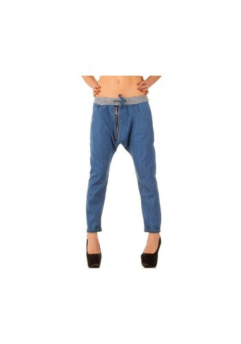 Neckermann Dames Jeans Gr. one size - blauw²