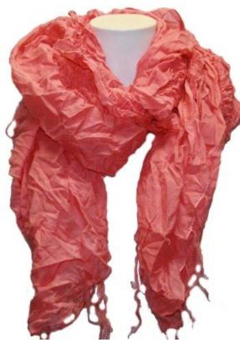 Romano Foulard dames rose avec frange