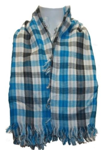 Clockhouse Dames sjaal ruit blauw