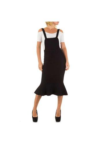 MOEWY Dames Jurk van Moewy  one size - Zwart