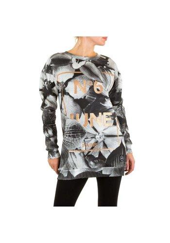 SIXTH JUNE Dames Sweater  van Sixth June - Grijs