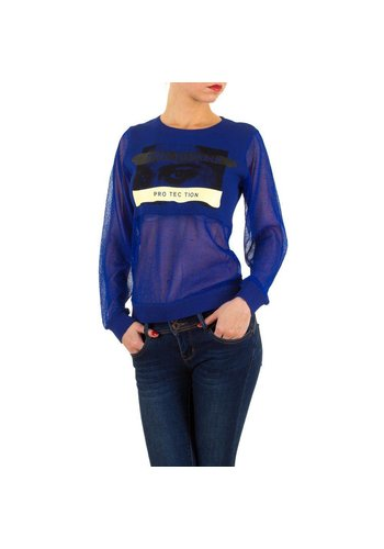 SWEEWE Dames Shirt van Sweewe - Blauw