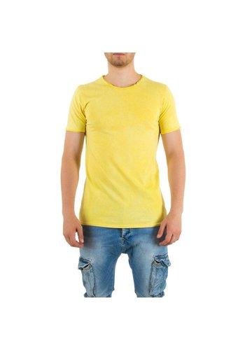Markenlos Heren Shirt van Uniplay - Geel